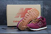 Мужские кроссовки New Balance 574 бордовые 44,45, фото 3