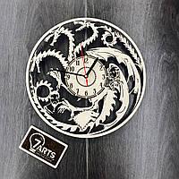 Часы настенные большие оригинальные для гостиной «Игра Престолов»