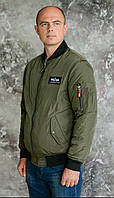 "Куртка (Bomber)MA-1 Slim Fit от ""Alpha Industries"".Реплика."