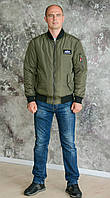 """Куртка (Bomber)MA-1 Slim Fit от """"Alpha Industries"""""""