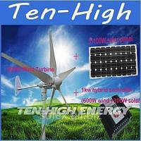 Гибридная система электроснабжения  1 кВт