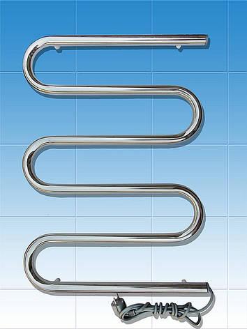 Полотенцесушитель электрический ПСС 1,  нерж., фото 2