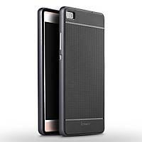 Чехол накладка IPAKY TPU + бампер PC для Huawei P8 серый