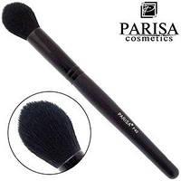 Parisa Кисть для макияжа № P40 (для румян, контурирования, овальная средняя)
