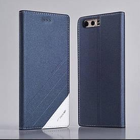 Чехол книжка для Huawei Honor 9 боковой, TSCASE, Серый