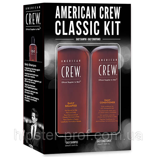 Набор American Crew Classic Daily Shampoo + Conditioner Duo