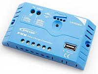 Контроллер LS1024EU, ШИМ 10А 12/24В+USB EPSolar