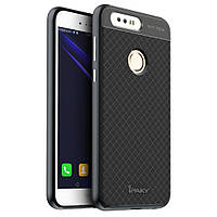 Чехол накладка IPAKY TPU + бампер PC для Huawei Honor 8 серый