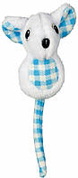 Игрушка Trixie Plush Mouse для кошек плюшевая, 8 см, фото 1