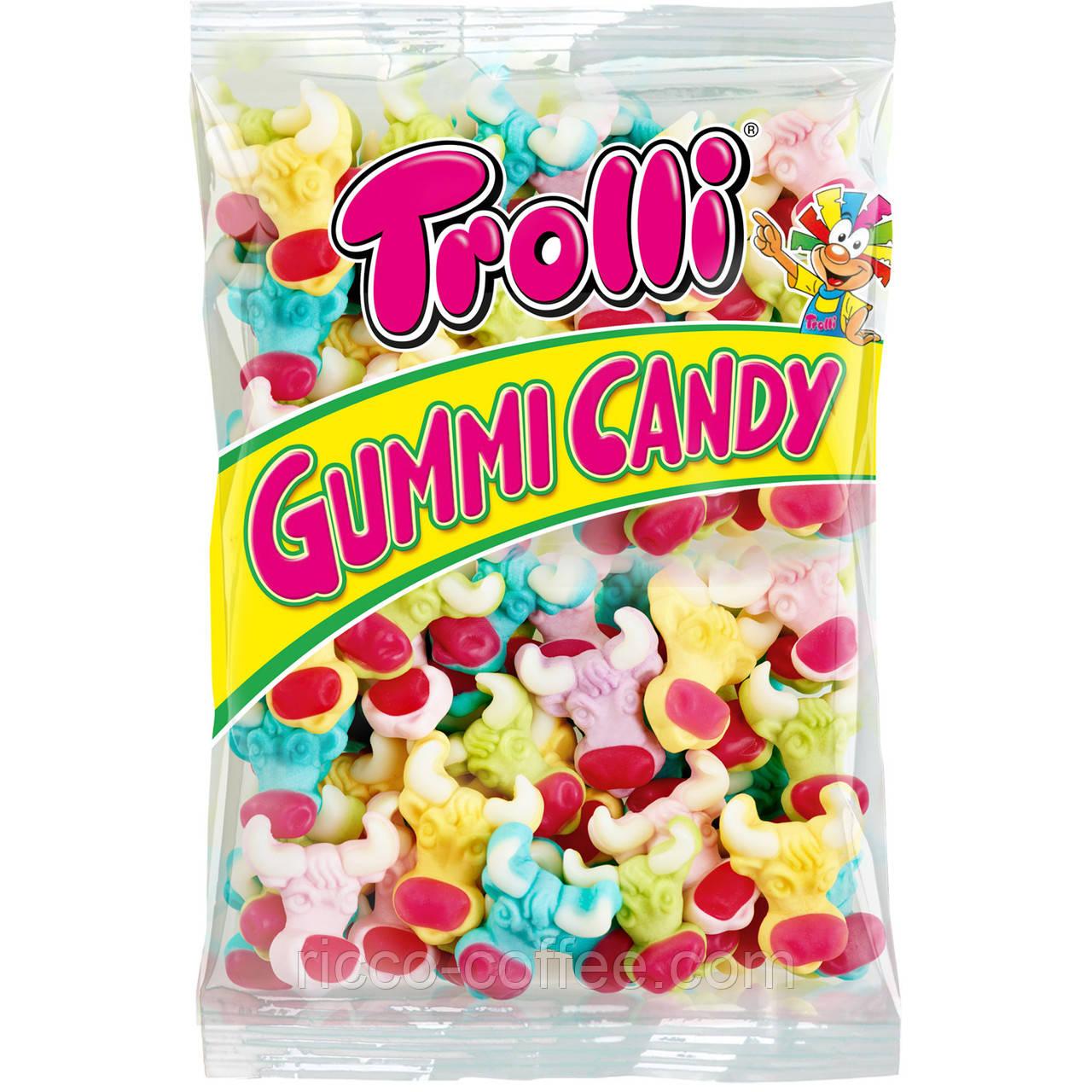Жувальні цукерки Trolli Bunte kuh 1 кг пакет