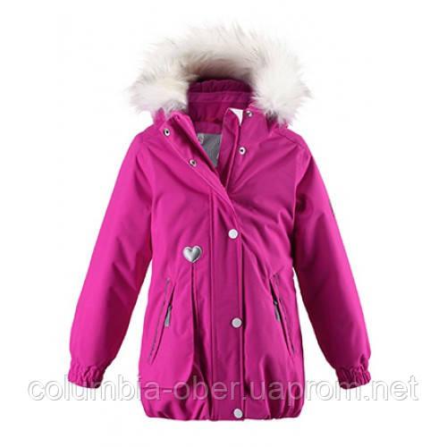 13047c6796ac Детские зимние куртки для девочек ReimaTec ZERLINDA 521362 - 4620. Размеры  116 и 122.