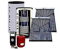 Система сплит солнечного нагрева воды JSH2-150-18