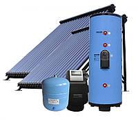 Система сплит солнечного нагрева воды JSH2-400-48