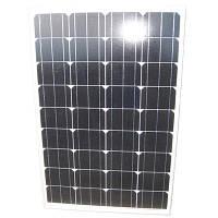 Солнечная батарея (панель) 100Вт, монокристаллическая ECS-100M36, ECsolar