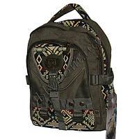 Рюкзаки с плотной брезентовой ткани фабричный пошив  14007-3
