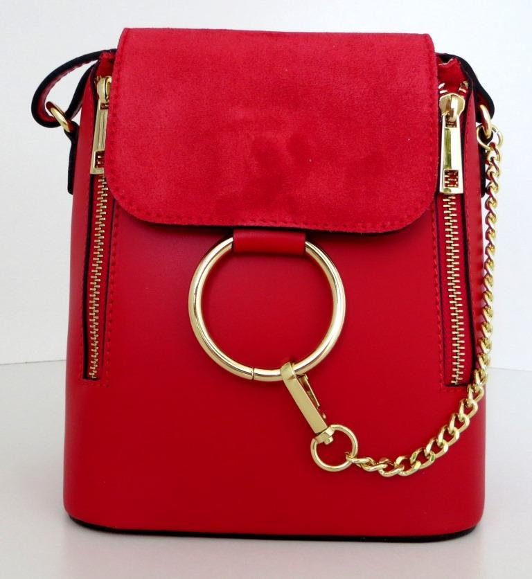 Жіноча маленька сумочка . Італія 100% натуральна шкіра . Червона ... 627948e256986