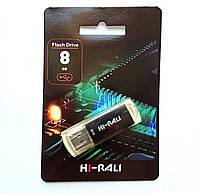 Флешка Hi-Rali 8GB Rocket series, черная
