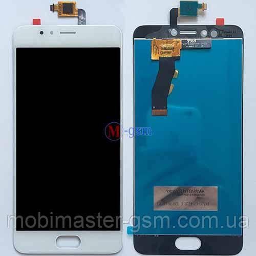 LCD модуль Meizu M5s белый