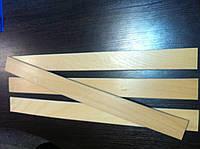 Ламель буковая (латофлекс) 600 мм  1 сорт