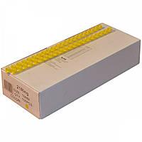 Пружины пластиковые 10мм желт, уп/100.