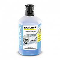 Автомобильный шампунь Karcher Plug 'N' Clean 3в1, 1л