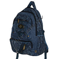 Рюкзаки с плотной ткани для школы в интернет магазине 16501-3