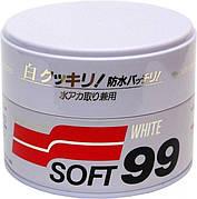 """Полироль Soft99 """"White Super Wax"""""""