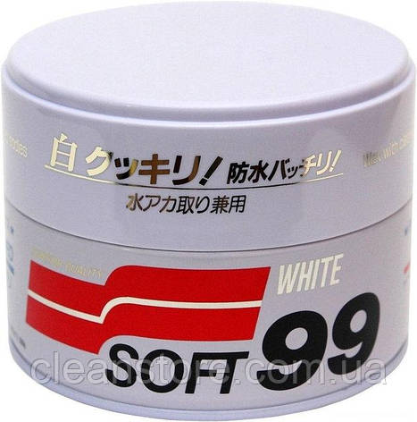 "Полироль Soft99 ""White Super Wax"", фото 2"