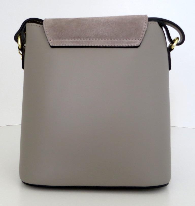 Жіноча маленька сумочка . Італія 100% натуральна шкіра . Сіра ... 6bb98fbd39b0b