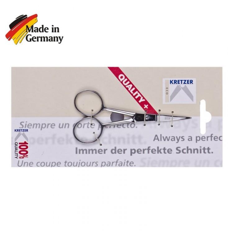 """Ножницы 100мм (4"""") для вышивания с острыми концами """"Kretzer"""" ECO 910810"""