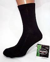 Мужские носки Монтекс plus. Лайкра. Цвет черный.