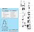 Дренажный насос Насосы+ DSP 12-9/1,3 (1,3 кВт, 417 л/мин), фото 2