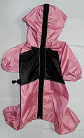 Дождевик - комбинезон для собак №5(стафф 58х86см) с капюшоном (Лори)