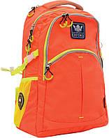 Рюкзак молодежный 1 Вересня Х231 ТМ Oxford, оранжевый  552866