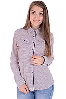 Рубашка Kularium 4125 Пудра,темно-синий
