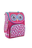 Рюкзак каркасний Smart  PG-11 1 Вересня Owl 553336 для девочки