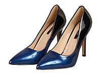 Туфли Vices 4010-11 Черный,синий