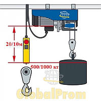 Таль электрическая (тельфер электрический) - РА 500/1000