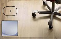 Защитный коврик PET, для гладкой поверхности, 2,0мм,  99 x 125 см *