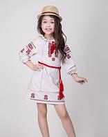 Платье детское вышитое крестиком., фото 1