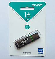 Флешка Smartbuy USB 3.0, 16GB Glossy series Black
