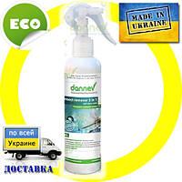 Очиститель остатков насекомых 3 в 1 Dannev 0,25л. Экологично. Сделано в Украине.