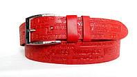 Красный ремень от производителя (40 мм.) # 0340080
