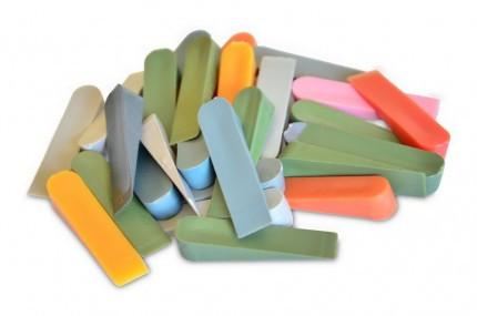 Клинья большие для плитки из высококачественной пластмассы 30шт