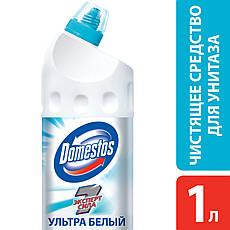 Средство для очистки унитаза Domestos Ультра белый, 1000мл