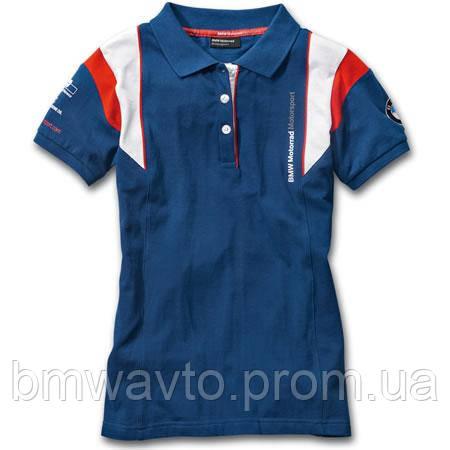 Женская рубашка-поло BMW Motorrad Motorsport Polo-shirt