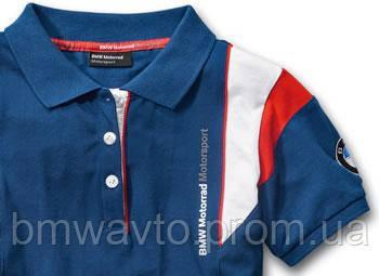 Женская рубашка-поло BMW Motorrad Motorsport Polo-shirt, фото 2