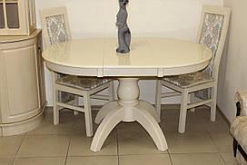 Стол деревянный белый