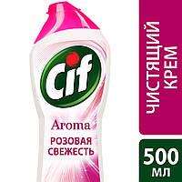 Сif крем для чищення Рожева свіжість 500мл