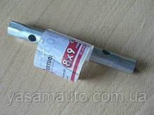 Ключ торцевой I-образный 8х9 Intertool XT-4108 трубчатый